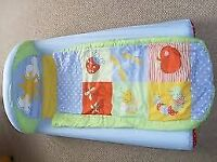 My First Ready Bed patchwork - childrens inflatable air bed