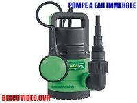 Florabest Submersible Water Pump lidl FTP 400 D3 acce