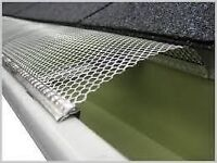 Gutter repairs and cleaning services available.