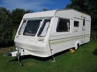Abbey 516 GTS caravan with awning and groundsheet. Lots of extras included