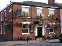Experienced Barman required for affluent Didsbury public house.