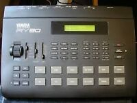 Yamaha RY30 Drum Machine (W. Manual and Power Supply)