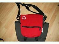 Bugaboo changing bag red