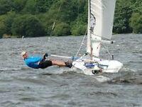 Laser Vago sailing dinghy, v.good condition currently sailed/stored at Llandegfedd Reservoir