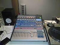 Mixing Digital Console Presonus 16.4.2