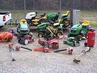 Looking for old unwanted mowers, snowblowers