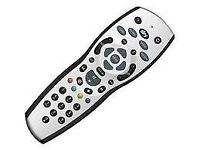 Genuine Sky+ Plus HD Remote Control with batteries, satellite box, TV, good condition, working well