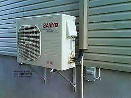 Installation climatiseur thermopompe murale partir de for Climatiseur mural laval