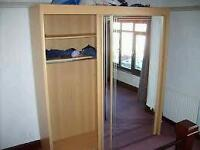 Sliding Door Mirrored Wardrobe FREE DELIVERY 5TH OCT