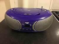 Purple bush cd player