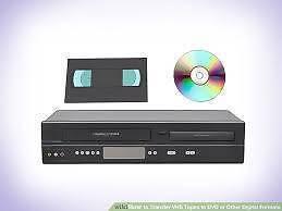 VHS to DVD Conversion Service Wynyard Waratah Area Preview