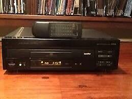 Laserdisc player and movies