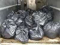 Rubbish removal £2 /black bags if need any removal service call me free qoute