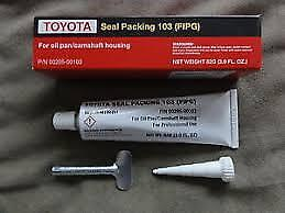 GENUINE TOYOTA SEAL PACKING 103 (FIPG) FOR OIL PAN/CAMSHAFT HOUSING