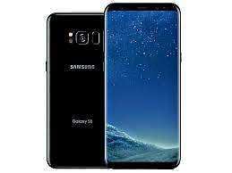 Sealed brand new Galaxy S8 64GB black unlocked with warranty Stirling Stirling Area Preview