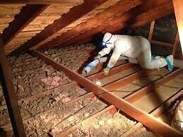Insulation removal Cornwall Ontario image 1