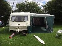 Elddis Tornado Vogue 1998 5 berth caravan