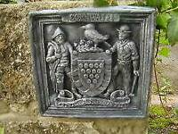 Cornwall coat of arms wall crest plaque garden entrance sign welcome Ebay