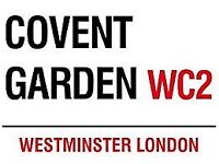 KITCHEN FRANCHISE/BUSINESS OPPORTUNITY - COVENT GARDEN PUB KITCHEN - AVAILABLE NOW