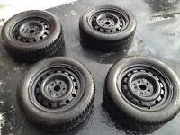 205/55/16 Nokian tires Winter 95% great condition with rims.