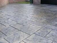 Concrete drives patios epoxy garage floors