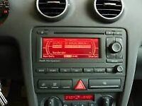 Audi navigation head unit stereo for a3 models