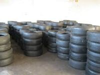 """PARTWORN TYRES 13"""" - 22"""" FROM £15"""