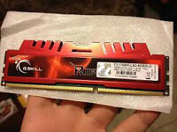 GSkull ddr3 pc3 8gb stick of pc ram for sale...