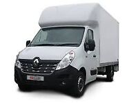 LARGE LUTONVAN WITH TAILLIFT MAN AND VAN HOUSE REMOVAALS FURNCHER DLVERY HOUSE CLEARANCE RUBBISH MOV
