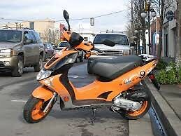 Kymco super 9 trade for cash and new phone