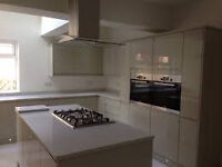 Laminate worktops professionally fitted. From £150