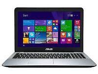 ASUS F556U NOTEBOOK/1TB HDD/4GB DDR3 RAM
