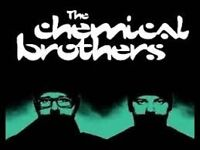 4 x CHEMICAL BROTHERS STANDING TICKETS - £45 - SUN 11th DEC - HAMMERSMITH