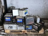 Old Car Battery's wanted