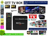 mxq pro new in 4k android 5.1 kodi no quibble 7 day money back
