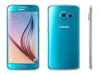 Sim Free Samsung Galaxy S6 Blue 32GB With Warranty