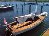 Nice 15 ft Sailboat With trailer
