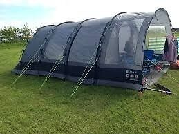 Gelert Bliss 6 TENT and Camping Equipment Bargain used for 2 nights all as new condition.