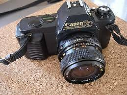 Vintage Canon T50 is a 35mm single-lens reflex (SLR) camera High Wycombe Kalamunda Area Preview