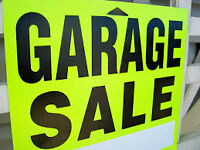 4TH ANNUAL BIGGEST GARAGE SALE OF THE YEAR
