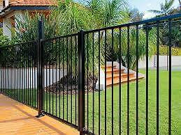 Aluminium Pool Fence Panel (Certified) - Black, Grey & Primrose Cardiff Lake Macquarie Area Preview