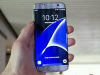 Samsung Galaxy S7 edge. RARE Silver Boxed Unlocked