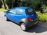2002 FORD KA COLLECTION 3 1249CC ENGINE, EXCELLENT CAR, 1ST TO SEE WILL BUY. LONG MOT CHEAP TAX.