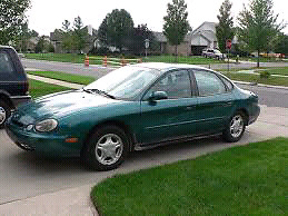 97 ford taurus for trade