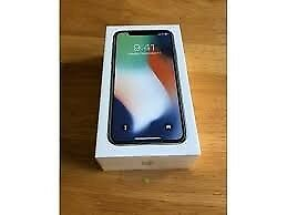 IPHONE X 64GB S.GREY SEALED BRAND NEW BOXED UNLOCKED FULL APPLE WARRANTY
