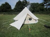 Gennaker Porch / Sail / Awning for a Bell tent or Garden Area (4 X Medium sized sails available)