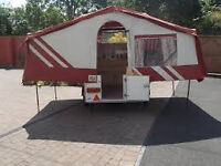Aztec Folding Camper/Trailer Tent 1998