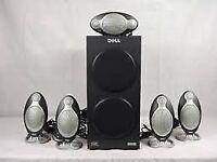 Altec Lansing Surround Sound Subwoofer & 5 Speakers