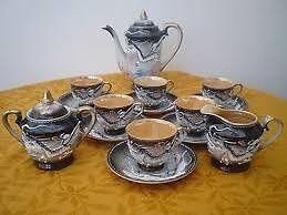 Fairylite moriage dragonware Coffee set