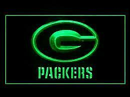 Green Bay Packers LED Neon Light Sign (New) Calgary Alberta Preview